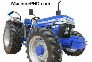 Farmtrac 6050 Executive 4x4 Tractor Price