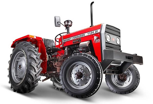 Massey Ferguson 1134 DI Tractor's price, specifications, features, applications are mentioned as under. It is implemented with rotavator, cultivator, spraying, haulage, sowing, reaper, threshing and across multiple crops like corn, grapes, groundnut, cotton, castor and many other crops.
