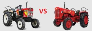Eicher 241 vs Mahindra 265 DI