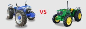 Farmtrac 6050 vs John Deere 5310